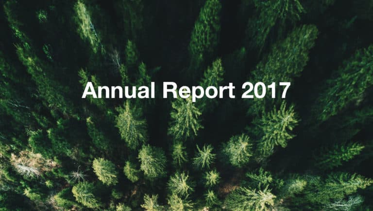 Banner annual report 2017 OTRS AG