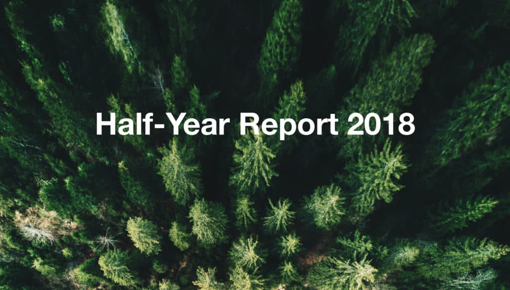 Banner half year report 2018 OTRS AG