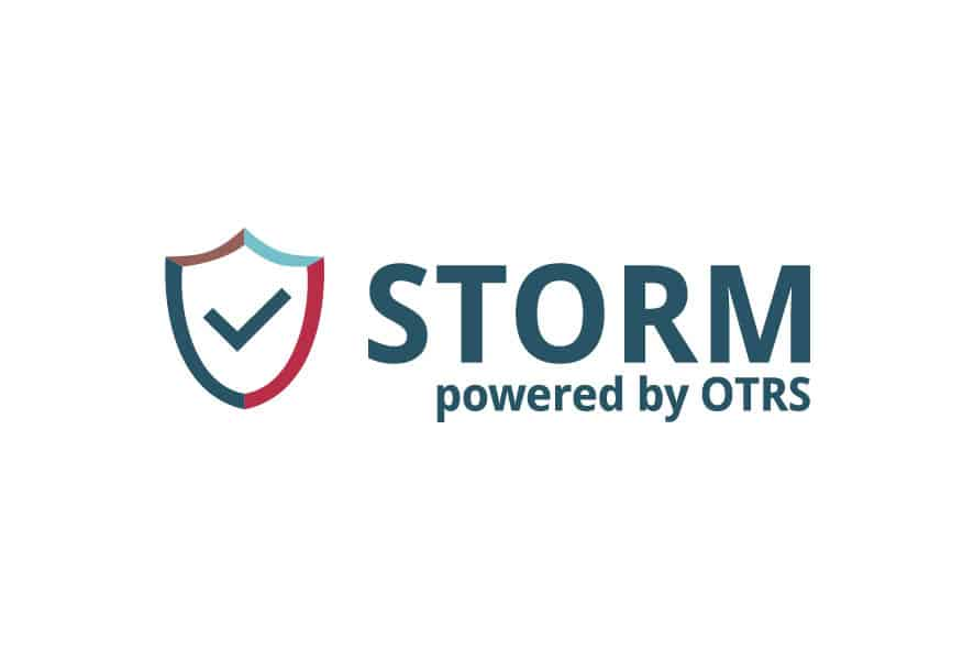 STORM powered by OTRS Logo