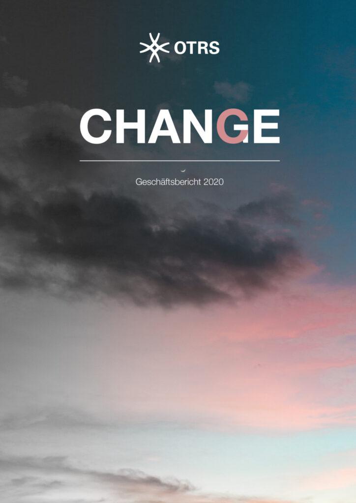 Cover Geschaeftsbericht 2020 OTRS AG