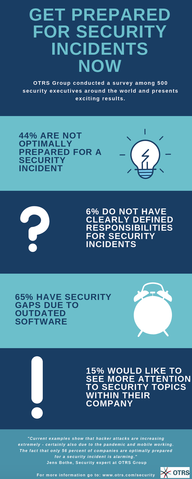 Infographic Cyber Security Survey Results