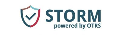 Logo STORM powered by OTRS