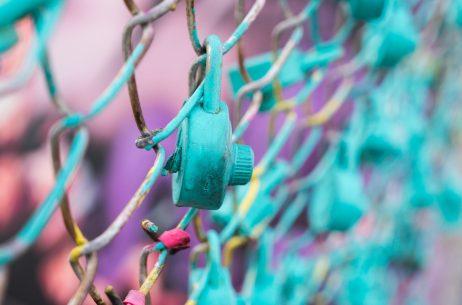 colorful lock