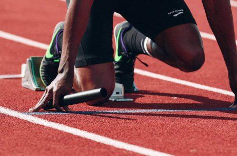 runner set ready to go